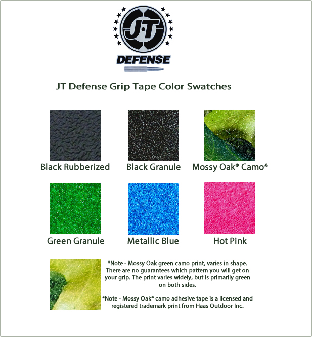 Glock grip tape colors