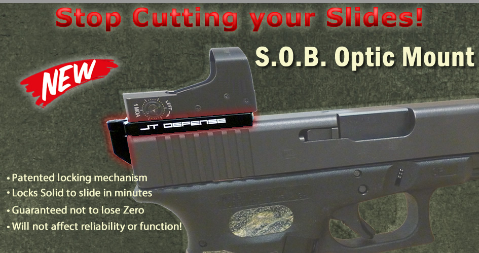 SOB Optic Mount - Mount a reflex on your glock