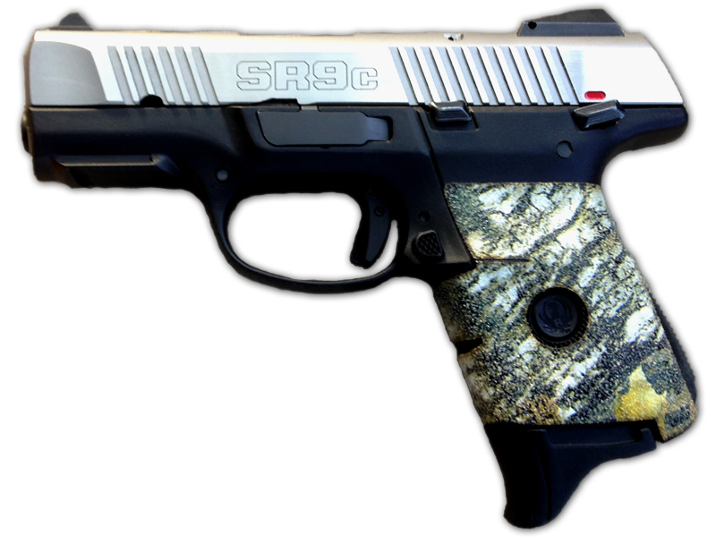 SR9C Ruger Grips - Multiple Colors of Decal grips available