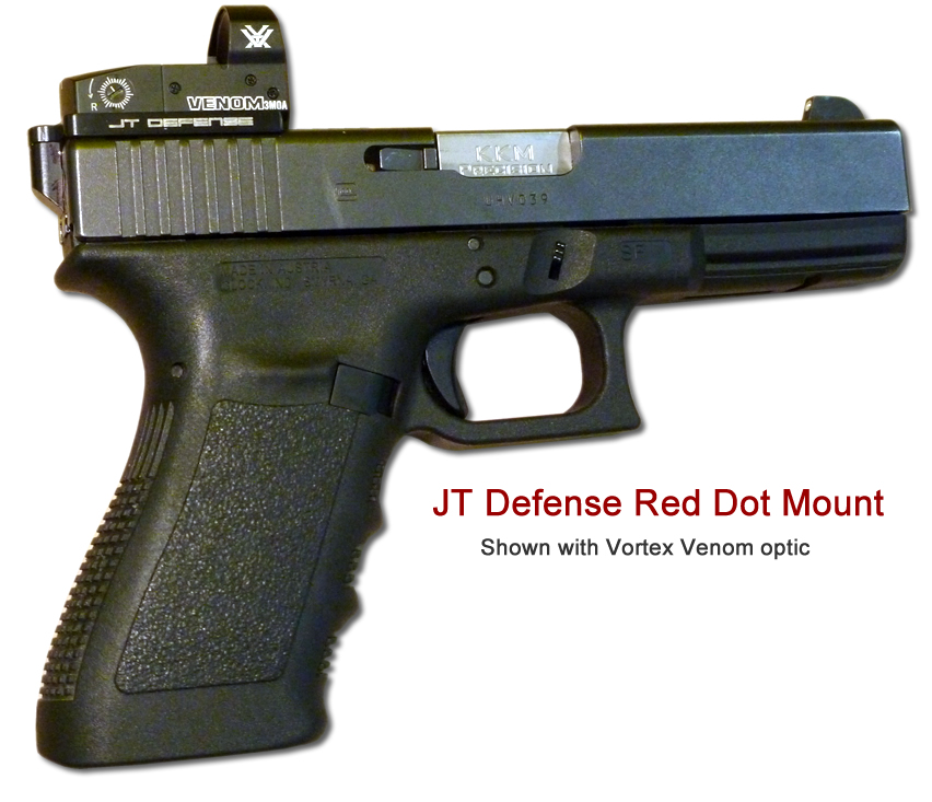 Glock Red Dot Sight Mount | Optic | JT Defense