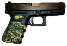 Glock 19 - Adhesive grips - Camo