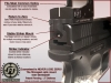 Springfield XD Optic Mount Plate - Burris Fastfire and Venom